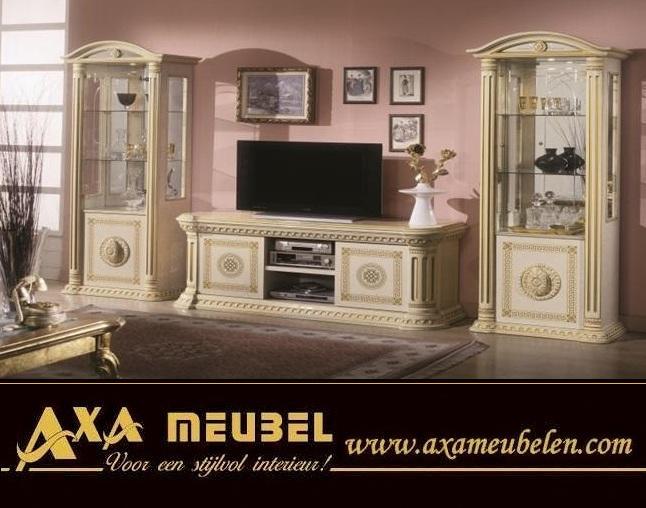 italienische hochglanz versace axa wohnzimmer m bel. Black Bedroom Furniture Sets. Home Design Ideas