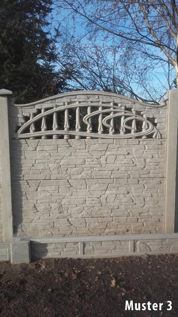 Sehr Zaun Pfosten Untermauerungen aus Beton Betonplatte Betonzaun VIELE HD27