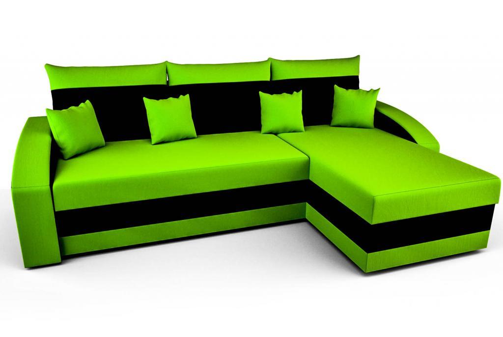 Sofa Couch Ecksofa Eckcouch Schlaffunktion Bettkasten Hewlet In
