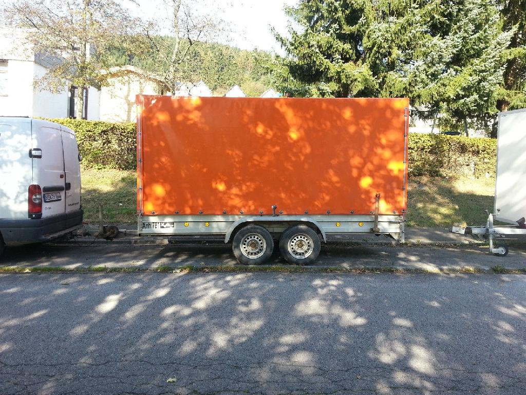 Außergewöhnlich PKW Anhänger von Koch Tonnen mit Tüv in Lorsch | KFZ nach Marken #UG_06