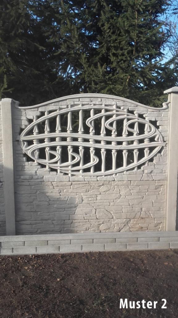 Hervorragend Zaun Pfosten Untermauerungen aus Beton Betonplatte Betonzaun VIELE FB42