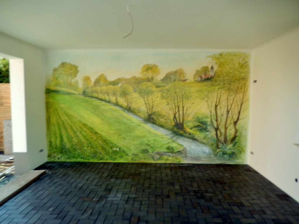 Attractive Wandmalerei Innen Und Außen Für Ihr Haus+ Hof