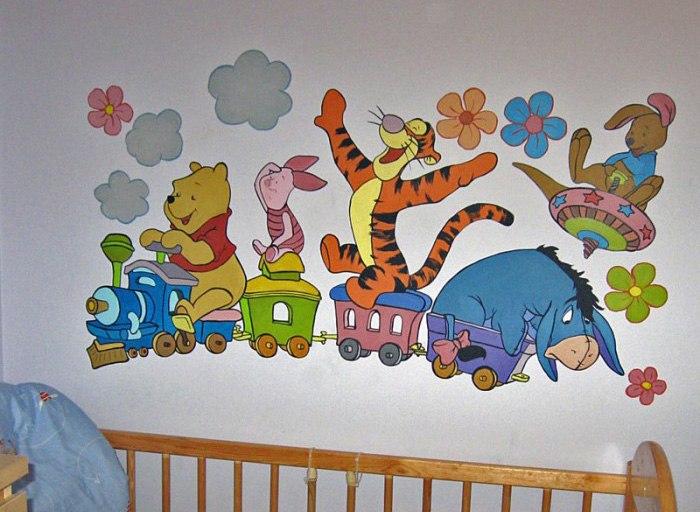 Kinderzimmer wandgestaltung tiere  Wandbilder Wandmalerei Kinderzimmer Wandgestaltung Kunstmaler ...