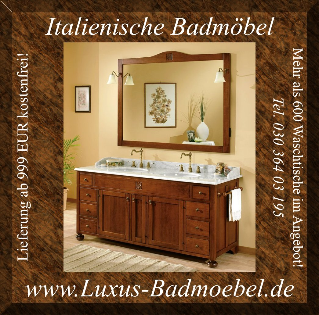 doppelwaschtisch serie ricordi ab werk italien in berlin m bel und haushalt kleinanzeigen. Black Bedroom Furniture Sets. Home Design Ideas