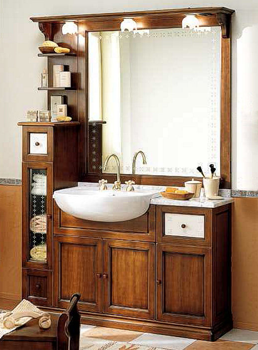 Einfach Rustikale Badezimmermoebel Moebelschmidt Freebetterbaru Info