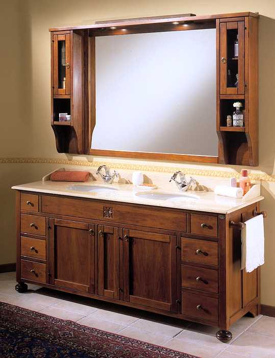 Waschtisch mit unterschrank landhausstil  Waschtischunterschrank Holz Landhausstil | gispatcher.com
