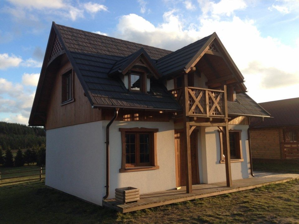 holzhaus ferienhaus ausbauhaus holzh user blockhaus projekt vorlage in grudziadz polen. Black Bedroom Furniture Sets. Home Design Ideas