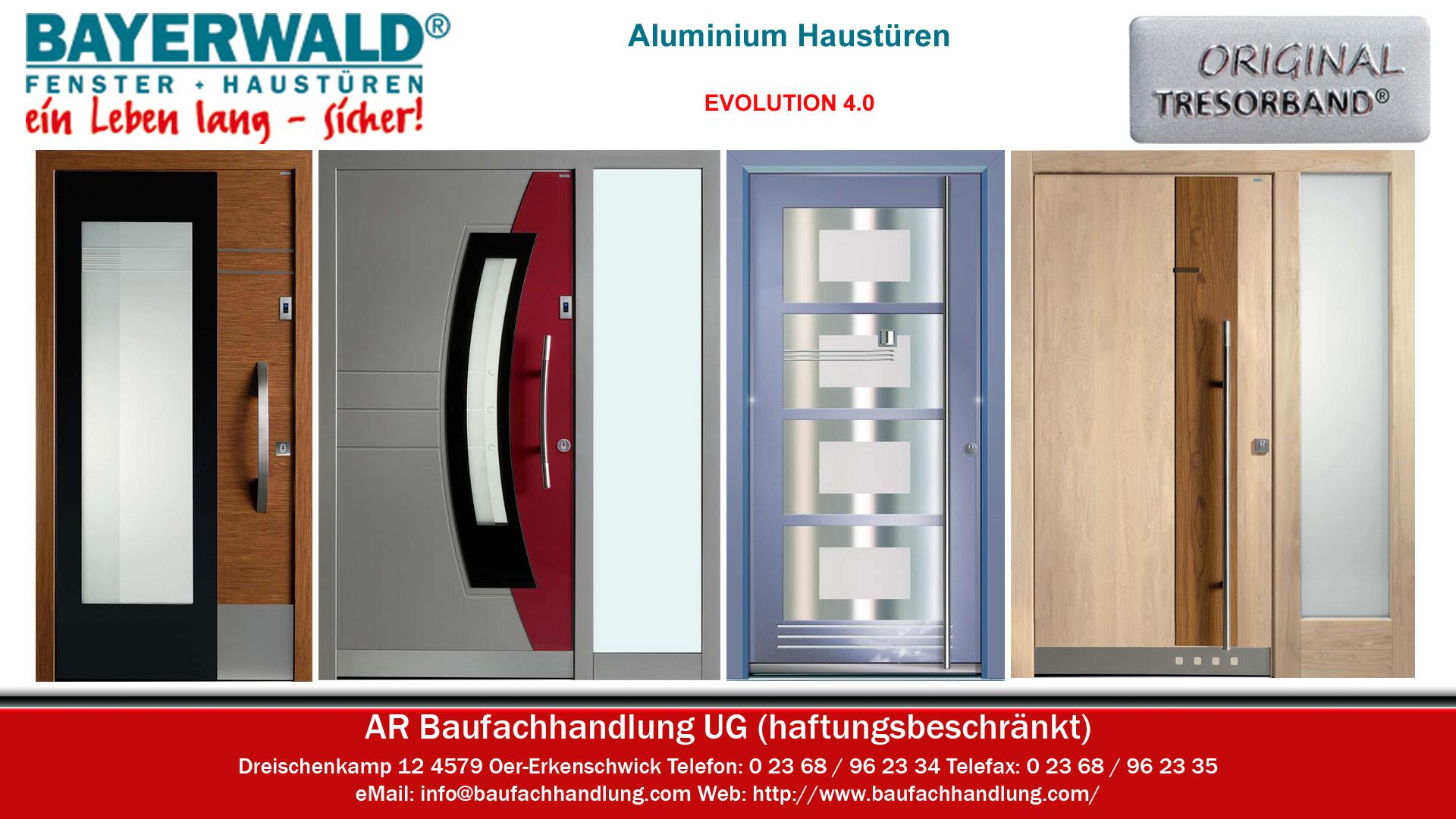 Bayerwald Haustüren bayerwald aktions aluminiumhaustüren aluminium haustüren in oer