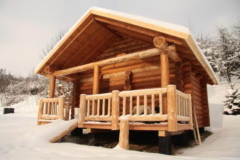 naturstammhaus ferienh user sauna holzhaus blockhaus in poland immobilien kleinanzeigen. Black Bedroom Furniture Sets. Home Design Ideas
