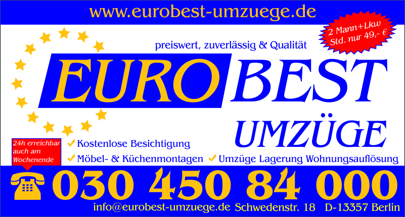 umzug umz ge transporter umzugservice umzugsfirmen umzugsunternehmen m bel in berlin. Black Bedroom Furniture Sets. Home Design Ideas