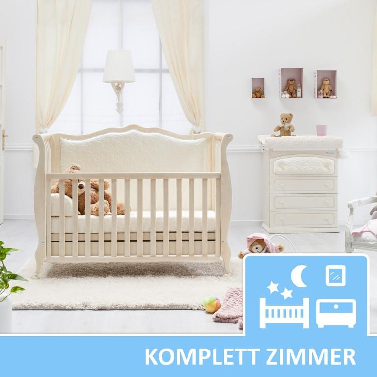 Kinder Und Babyzimmer Shabby Chic In Antikweiss Rinascimento Azzurra