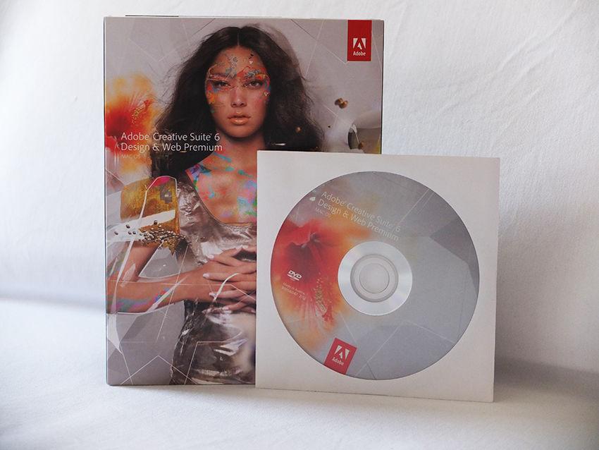 Vollversion Adobe Creative Suite CS6 Design Web Premium Mac als Box