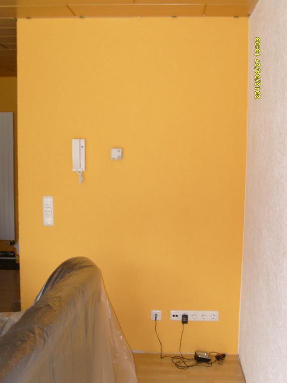 Wohnung Streichen Kosten Maler : 60qm weiss streichen Angebot 500 Euro in frankfurt m  Handwerk