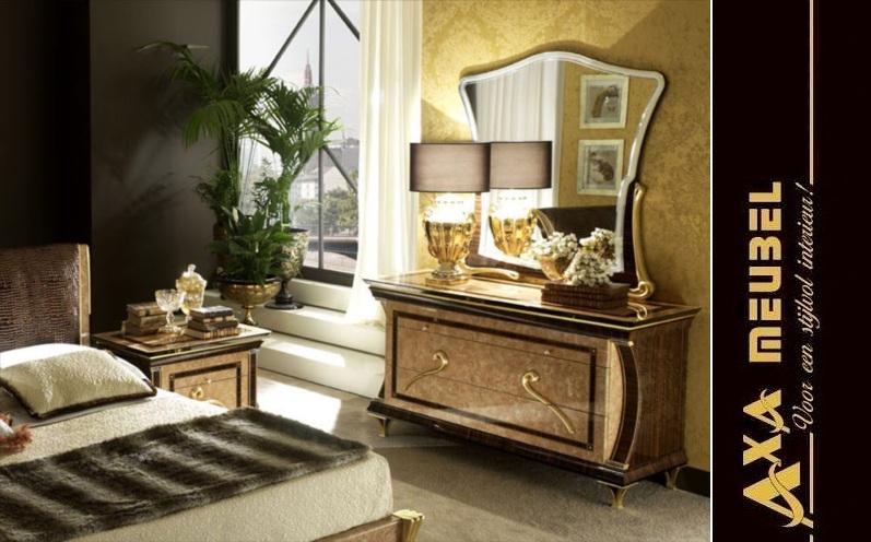 komplettes luxus Schlafzimmer hochglanz aus Italien AXA Möbel in ...