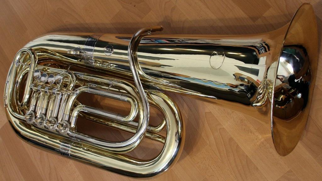 Band & Orchester Professioneller Verkauf Bb Kaiserbariton Bariton Silber Euphonium Drehventile Versilbert Baritone
