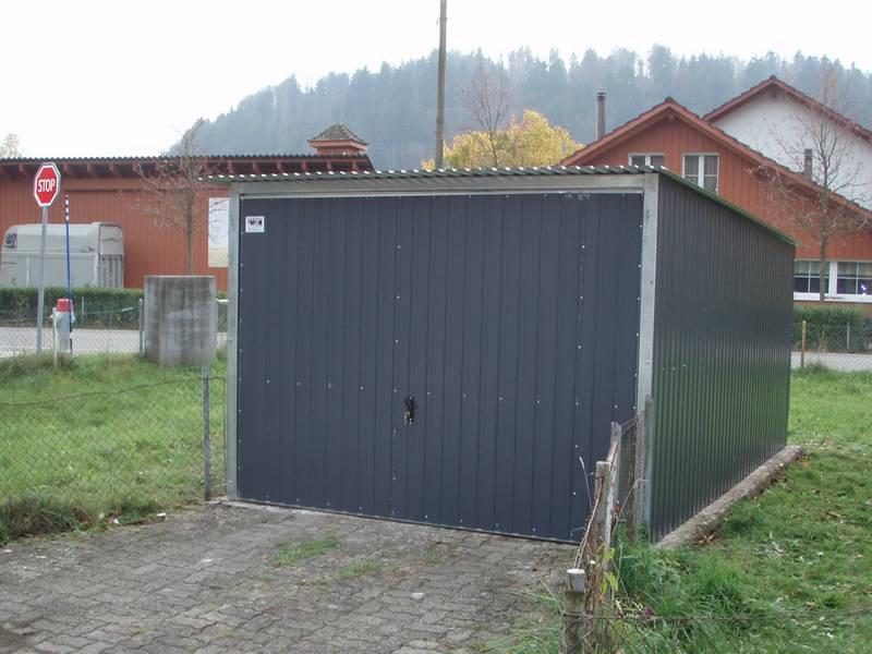 Garage Blechgarage Metallgarage Schuppen Fertiggarage Lager 3x5m in ...