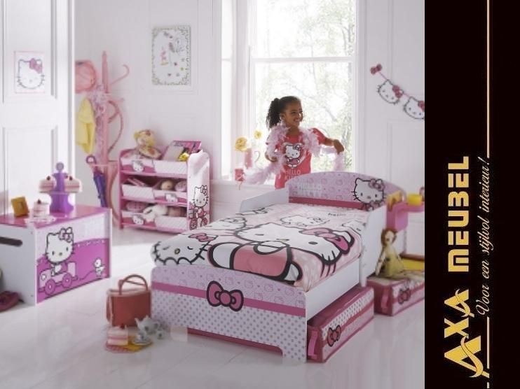Gunstige Hello Kitty Bett Kinderzimmer Axa Mobel Niederlande In