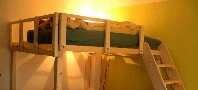 ikea hochbett tovik 40x2 00 in bremen m bel und haushalt kleinanzeigen. Black Bedroom Furniture Sets. Home Design Ideas