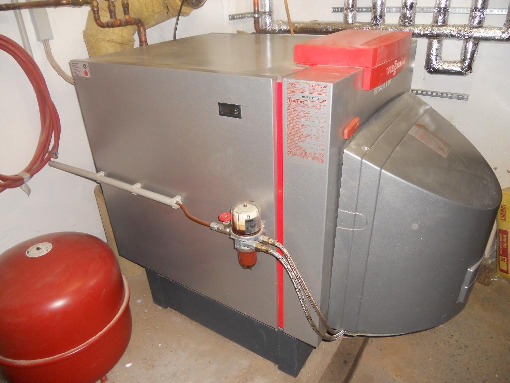 Viessmann Öl Gaskessel Vitola 200 in Sasbachwalden   Handwerk ...
