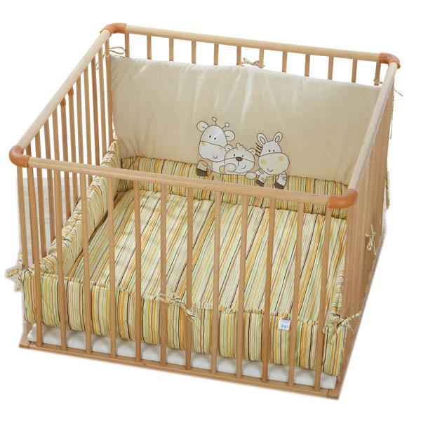 Kindermöbel bett  Laufgitter Bett von Kindermöbel Hersteller Sämann in Ebersburg ...