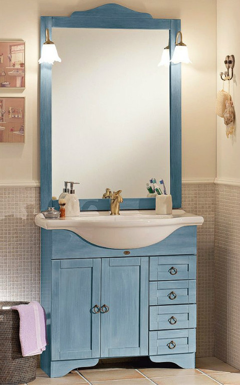 Kleinanzeigen bad einrichtung seite 1 - Badezimmerschrank landhausstil ...