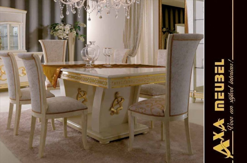 italienische luxus wohnzimmer goccia gold axa m bel. Black Bedroom Furniture Sets. Home Design Ideas