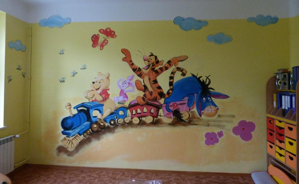 Wandbilder Wandmalerei Gemälde Motive Garagen Kinderzimmer Praxisräu ...