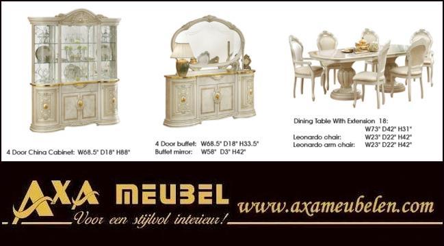 beige gold hochglanz klassische italienische wohnzimmer axa möbel ... - Wohnzimmer Beige Gold