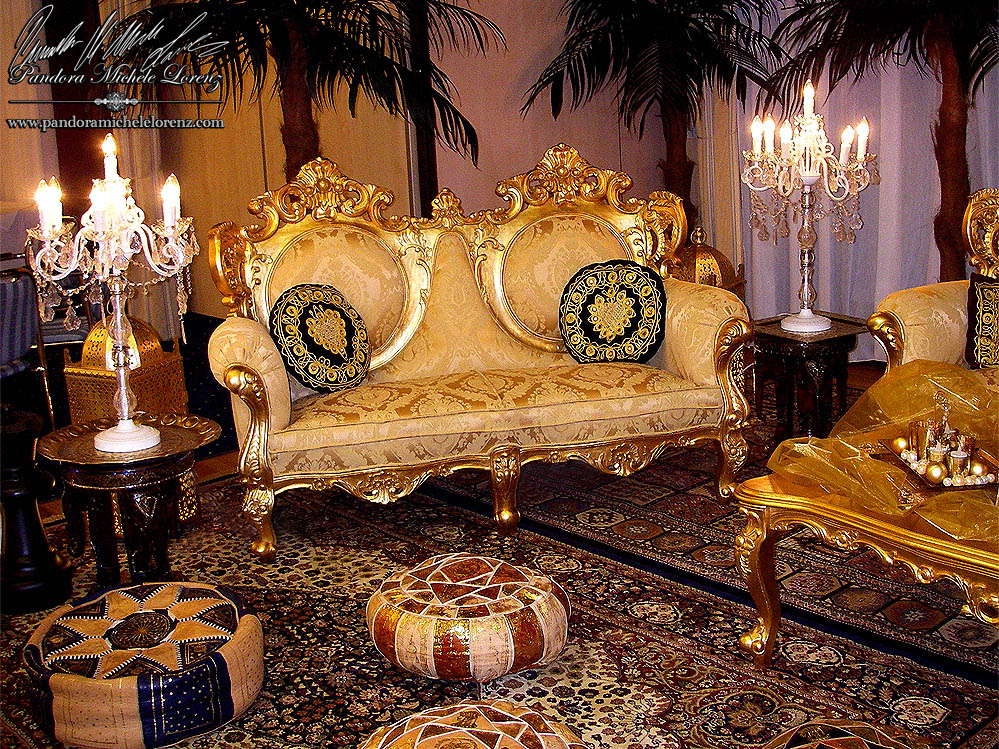 barock luxus lounge m bel deko verleih f r events galas. Black Bedroom Furniture Sets. Home Design Ideas