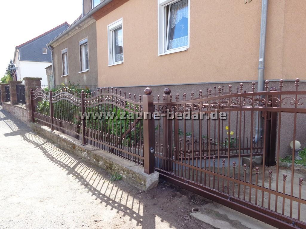 ZAUN aus Polen Beste Preise und Qualität Metallzaun