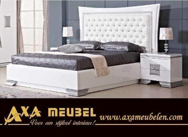 Schlafzimmer Komplett Weiß Hochglanz Günstig Kaufen Axa Möbel In