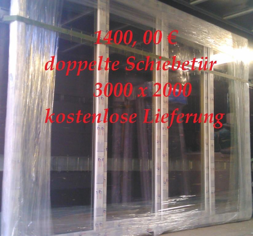 Preisknaller Fenster Türen Schiebetüren und Balkontüren in