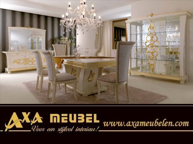 barock italien klassik nu baum hochglanz vip stilm bel axa in 2512cm m bel und haushalt. Black Bedroom Furniture Sets. Home Design Ideas