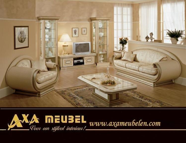 Italien Hochglanz Wohnzimmer Versailles AXA Möbel Angebote