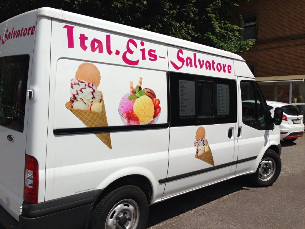 Eiswagen Zu Verkaufen