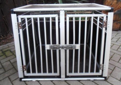 original schmidt box f r gro e hunde doppelbox in. Black Bedroom Furniture Sets. Home Design Ideas