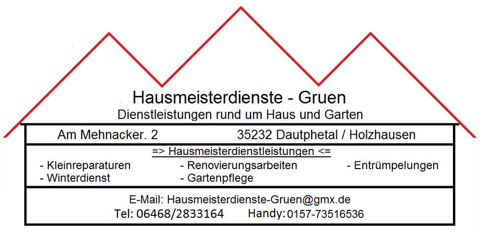 Dienstleistungen Rund Um Haus Und Garten In Dautphetal