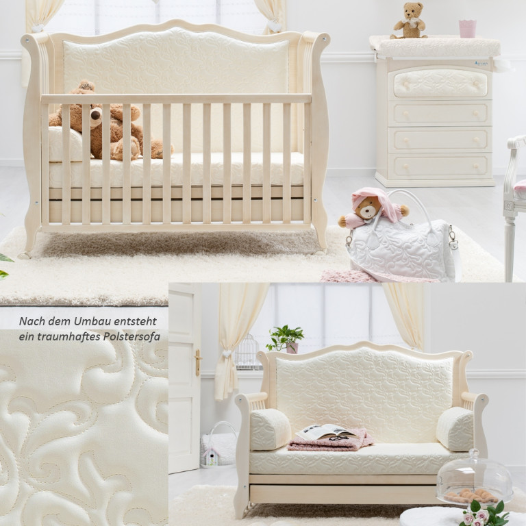 kinder und babyzimmer shabby chic in antikwei rinascimento azzurra in dresden baby und kind. Black Bedroom Furniture Sets. Home Design Ideas