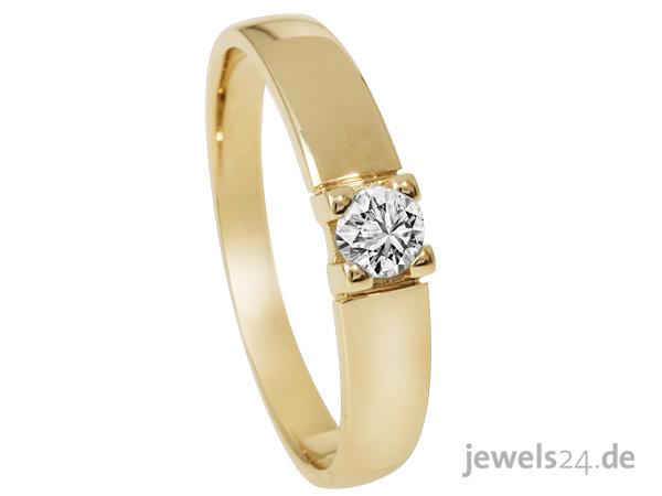 Diamantring gold  Diamantring Diamant Granat Edelsteine Gold günstig vom Hersteller ...